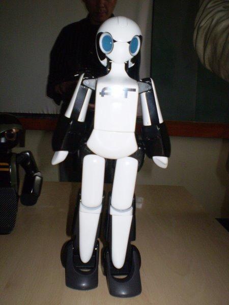 Laszlo Bencker Lady Robot